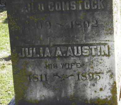 COMSTOCK, JULIA A. - Erie County, Ohio | JULIA A. COMSTOCK - Ohio Gravestone Photos