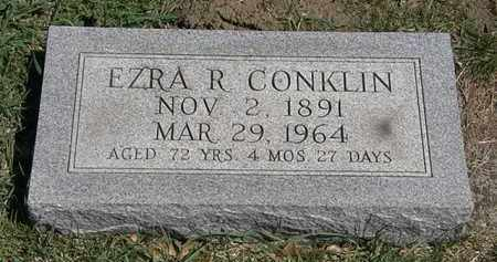 CONKLIN, EZRA R. - Erie County, Ohio | EZRA R. CONKLIN - Ohio Gravestone Photos