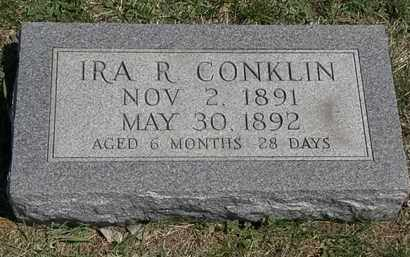 CONKLIN, IRA R. - Erie County, Ohio | IRA R. CONKLIN - Ohio Gravestone Photos
