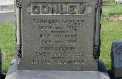 CONLEY, JAMES - Erie County, Ohio | JAMES CONLEY - Ohio Gravestone Photos