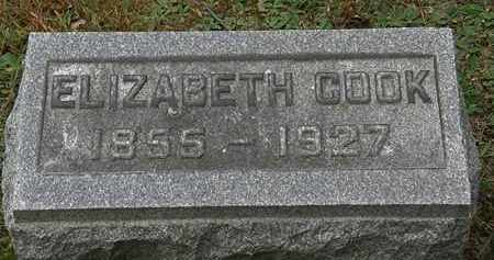 COOK, ELIZABETH - Erie County, Ohio | ELIZABETH COOK - Ohio Gravestone Photos