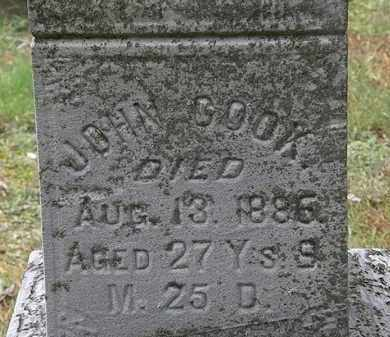 COOK, JOHN - Erie County, Ohio | JOHN COOK - Ohio Gravestone Photos