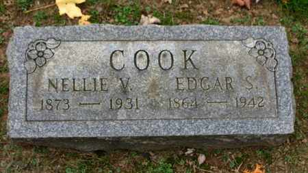 COOK, NELLIE V. - Erie County, Ohio | NELLIE V. COOK - Ohio Gravestone Photos