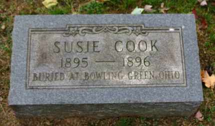 COOK, SUSIE - Erie County, Ohio   SUSIE COOK - Ohio Gravestone Photos
