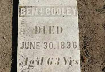 COOLEY, BENJ. - Erie County, Ohio | BENJ. COOLEY - Ohio Gravestone Photos
