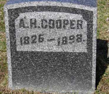 COOPER, A.H. - Erie County, Ohio | A.H. COOPER - Ohio Gravestone Photos