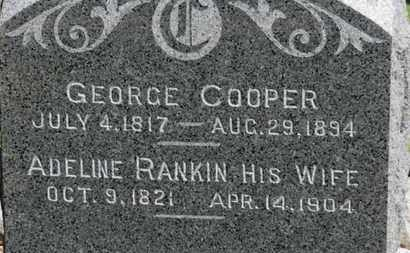 RANKIN COOPER, ADELINE - Erie County, Ohio | ADELINE RANKIN COOPER - Ohio Gravestone Photos
