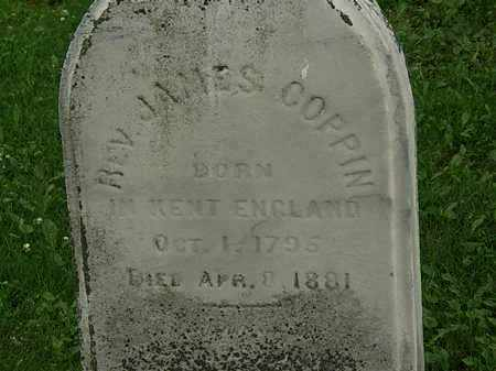 COPPIN, JAMES, REV. - Erie County, Ohio | JAMES, REV. COPPIN - Ohio Gravestone Photos