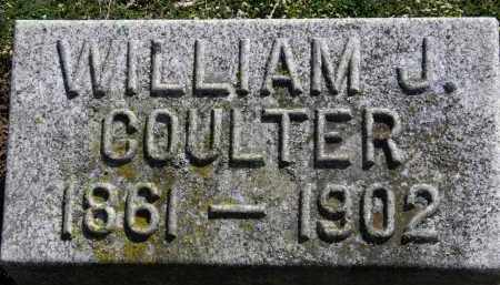 COULTER, WILLIAM J. - Erie County, Ohio | WILLIAM J. COULTER - Ohio Gravestone Photos