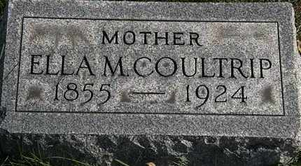 COULTRIP, ELLA M. - Erie County, Ohio | ELLA M. COULTRIP - Ohio Gravestone Photos