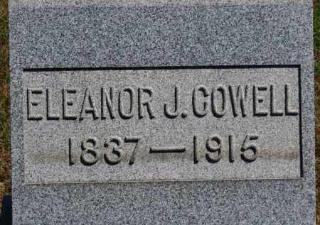 COWELL, ELEANOR J. - Erie County, Ohio | ELEANOR J. COWELL - Ohio Gravestone Photos