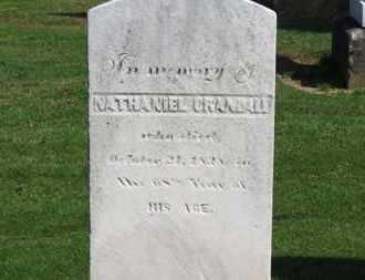 CRANDALL, NATHANIEL - Erie County, Ohio | NATHANIEL CRANDALL - Ohio Gravestone Photos