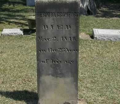 CRAWFORD, HERMON - Erie County, Ohio | HERMON CRAWFORD - Ohio Gravestone Photos