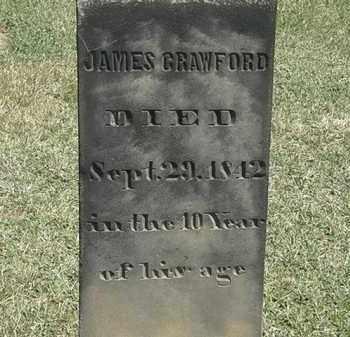 CRAWFORD, JAMES - Erie County, Ohio | JAMES CRAWFORD - Ohio Gravestone Photos