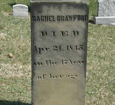 CRAWFORD, RACHEL - Erie County, Ohio | RACHEL CRAWFORD - Ohio Gravestone Photos