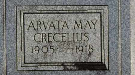 CRECELIUS, ARVATA MAY - Erie County, Ohio | ARVATA MAY CRECELIUS - Ohio Gravestone Photos