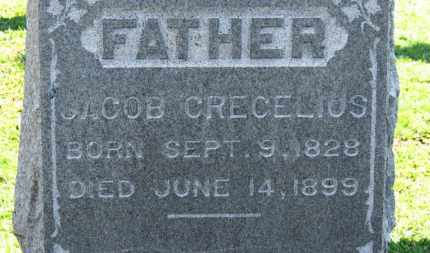 CRECELIUS, JACOB - Erie County, Ohio | JACOB CRECELIUS - Ohio Gravestone Photos
