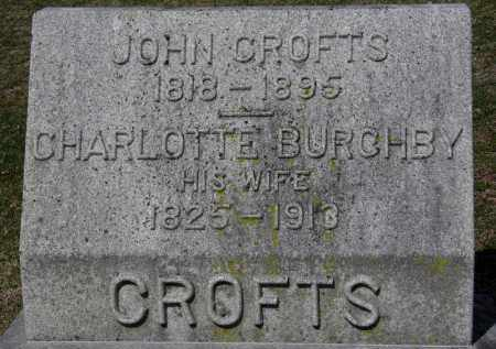 CROFTS, JOHN - Erie County, Ohio | JOHN CROFTS - Ohio Gravestone Photos