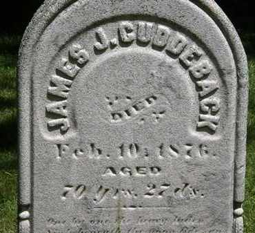 CUDDEBACK, JAMES J. - Erie County, Ohio | JAMES J. CUDDEBACK - Ohio Gravestone Photos