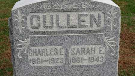 CULLEN, CHARLES E. - Erie County, Ohio | CHARLES E. CULLEN - Ohio Gravestone Photos