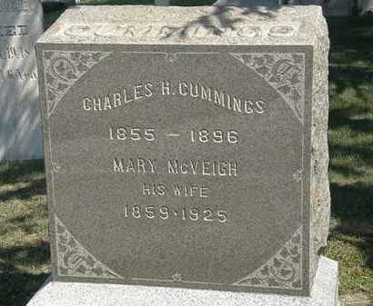 CUMMINGS, CHARLES H. - Erie County, Ohio | CHARLES H. CUMMINGS - Ohio Gravestone Photos