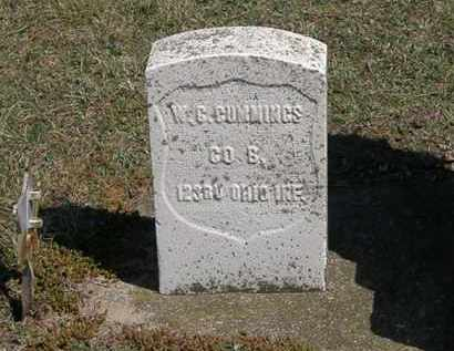 CUMMINGS, W. G. - Erie County, Ohio | W. G. CUMMINGS - Ohio Gravestone Photos