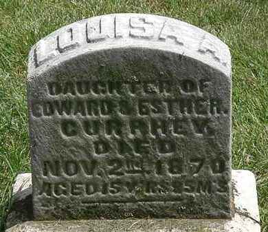 CURPHEY, LOUIAS A. - Erie County, Ohio | LOUIAS A. CURPHEY - Ohio Gravestone Photos