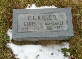 CURRIER, HENRY - Erie County, Ohio | HENRY CURRIER - Ohio Gravestone Photos