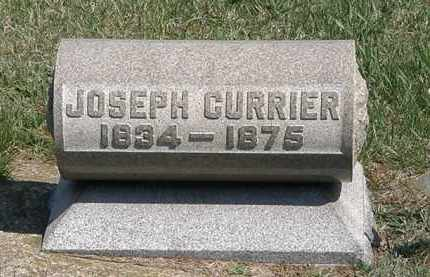 CURRIER, JOSEPH - Erie County, Ohio | JOSEPH CURRIER - Ohio Gravestone Photos