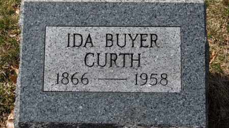 CURTH, IDA - Erie County, Ohio | IDA CURTH - Ohio Gravestone Photos