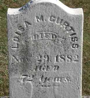 CURTISS, LOUISA M. - Erie County, Ohio | LOUISA M. CURTISS - Ohio Gravestone Photos