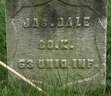 DALE, JAS. - Erie County, Ohio | JAS. DALE - Ohio Gravestone Photos