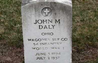 DALY, JOHN M. - Erie County, Ohio | JOHN M. DALY - Ohio Gravestone Photos