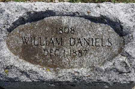 DANIELS, WILLIAM - Erie County, Ohio | WILLIAM DANIELS - Ohio Gravestone Photos