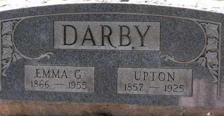DARBY, UPTON - Erie County, Ohio | UPTON DARBY - Ohio Gravestone Photos