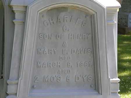 DAVIS, CHARLES C. - Erie County, Ohio | CHARLES C. DAVIS - Ohio Gravestone Photos