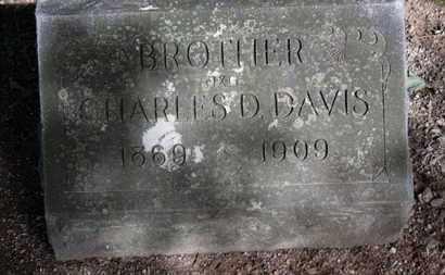 DAVIS, CHARLES D. - Erie County, Ohio | CHARLES D. DAVIS - Ohio Gravestone Photos