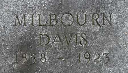 DAVIS, MILBOURN - Erie County, Ohio | MILBOURN DAVIS - Ohio Gravestone Photos