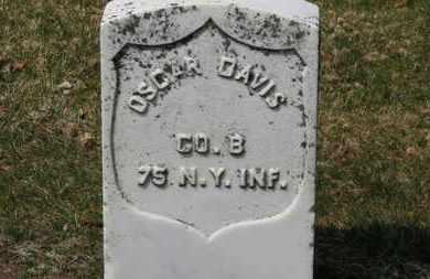 DAVIS, OSCAR - Erie County, Ohio | OSCAR DAVIS - Ohio Gravestone Photos