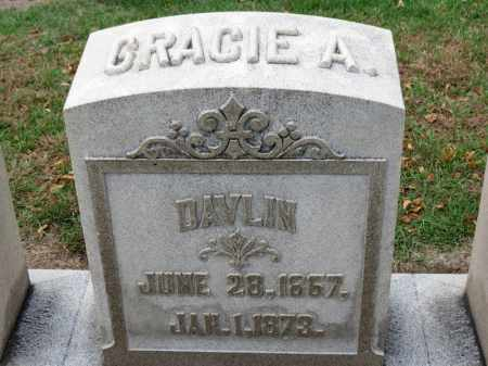 DAVLIN, GRACIE A. - Erie County, Ohio | GRACIE A. DAVLIN - Ohio Gravestone Photos
