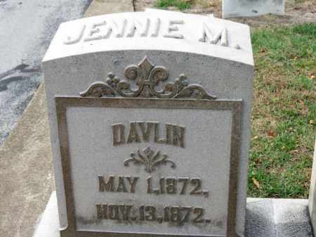 DAVLIN, JENNIE M. - Erie County, Ohio | JENNIE M. DAVLIN - Ohio Gravestone Photos