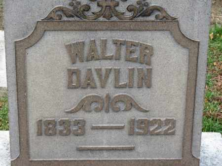 DAVLIN, WALTER - Erie County, Ohio | WALTER DAVLIN - Ohio Gravestone Photos
