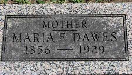 DAWES, MARIA E. - Erie County, Ohio | MARIA E. DAWES - Ohio Gravestone Photos