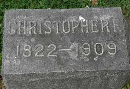DECKER, CHRISTOPHER F. - Erie County, Ohio | CHRISTOPHER F. DECKER - Ohio Gravestone Photos