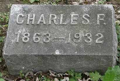 DECKER, CHARLES F. - Erie County, Ohio | CHARLES F. DECKER - Ohio Gravestone Photos