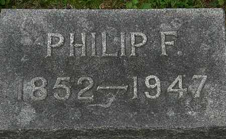 DECKER, PHILIP F. - Erie County, Ohio | PHILIP F. DECKER - Ohio Gravestone Photos