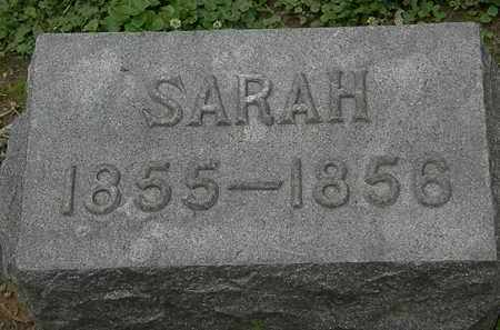 DECKER, SARAH - Erie County, Ohio | SARAH DECKER - Ohio Gravestone Photos