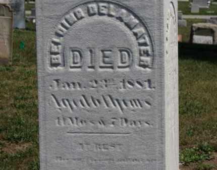 DELAMATER, BELDING - Erie County, Ohio | BELDING DELAMATER - Ohio Gravestone Photos
