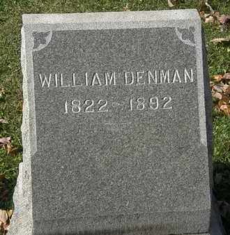 DENMAN, WILLIAM - Erie County, Ohio | WILLIAM DENMAN - Ohio Gravestone Photos