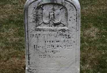 DIBBLE, MARTIN - Erie County, Ohio | MARTIN DIBBLE - Ohio Gravestone Photos
